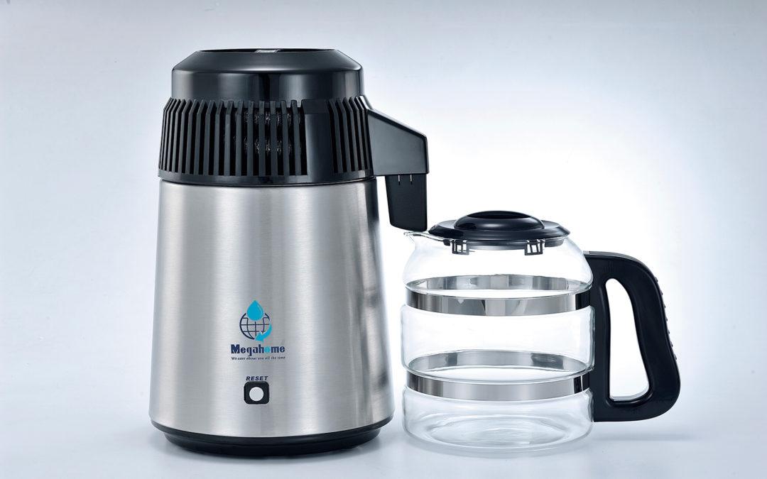 Hvordan virker en vanndestillator fra Megahome?