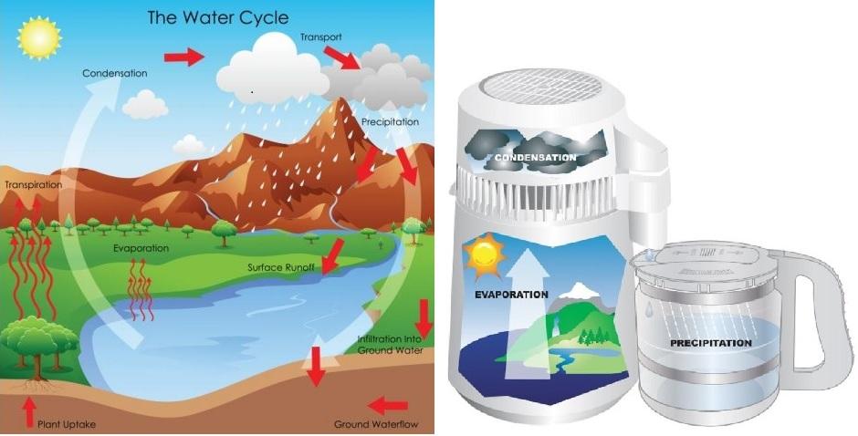 Destillert vann er kilde til god helse, livet ut!